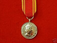 Quality Fire Long Service  Miniature medal