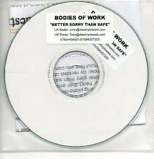 (AI188) Bodies of Work, Better Sorry Than Safe - DJ CD