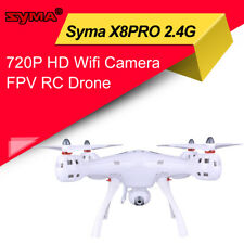Syma X8PRO 2.4G 720P HD Wifi Camera FPV RC Drone GPS Altitude Hold Headless