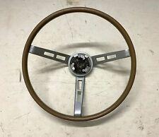 1968-70 B-Body Woodgrain Wheel OEM Original Charger Road Runner GTX Mopar 69