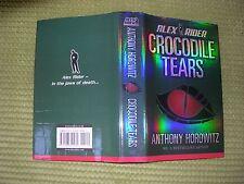 ANTHONY HOROWITZ SIGNED FIRST EDITION,FIRST IMPRESSION HARDBACK,CROCODILE TEARS.