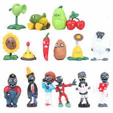 16pcs SET Plants Vs. Zombies Cherry Snowman Action Figure Toy Kids Child Gift