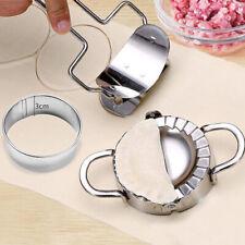 Acero Inoxidable pasta ravioles Dumpling Círculo Molde Maker y Cortador de cocina