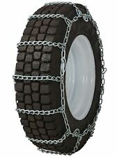 Quality Chain 2257QC Cam 8mm Link Tire Chains Snow Traction Commercial Truck