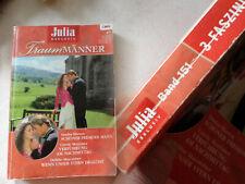 Romanheft Julia Exklusiv -Traummänner -  BAND 151 / 3 Liebesromane im Band