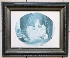 LOUIS ICART NUMBERED IN PENCIL  129/500 SIGNED IN PRINT  REPRODUCTION