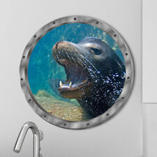 Sea Lions Animals Wall Sticker Decals Vinyl Mural Room Decor~GN