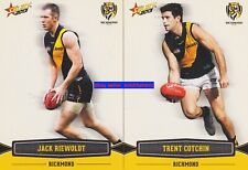 Jack Riewoldt & Trent Cotchin 2013 Select Collector Footy Cards Richmond Tigers