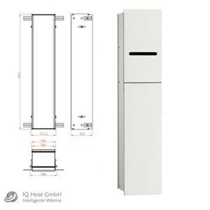 WC Modul emco asis 2.0 Unterputz Tür links Höhe 811mm optiwhite Wandcontainer