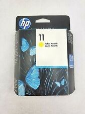 HP 11 Yellow Ink Cartridge C4838A Genuine New, expired 7/2012