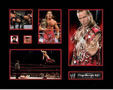 New Shawn Michaels Heartbreak Kid Signed Limited Edition Memorabilia Framed