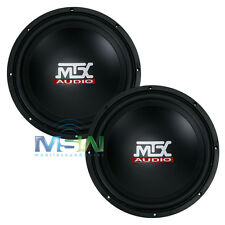 "(2) MTX AUDIO TN12-02 12"" TERMINATOR Series 2-OHM CAR SUBS SUBWOOFERS *PAIR*"