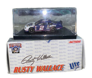 LIMITED EDITION Action 1:64 Scale Rusty Wallace #2 Miller Light 98 Ford Taurus