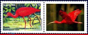 2921a BRAZIL 2004 MANED, BIRDS, RHM C-2564, SCOTT 2921a, MNH