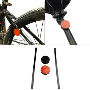 Anti-lost Protector Bike Mount Bracket W/ Reflector For AirTag GPS Tracker
