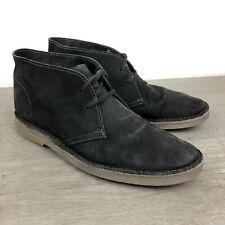 J Crew Calvert Mens 9 Black Suede Chukka Boots