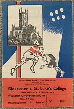More details for gloucester v st lukes college rugby union 1969