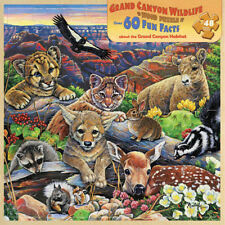 Alaska Wildlife Wood Jigsaw Puzzle 48 pc Masterpieces Puzzle #20307