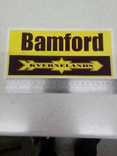 Bamford Kverneland plough decal