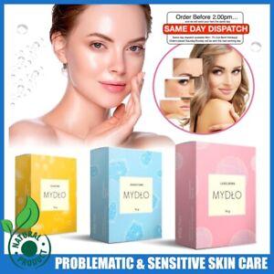 🍃 Natural Soap Salicylic Sulphur Lanolin Problematic Acne & Sensitive Skin Wash