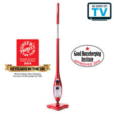 Thane H2O X5 5-in-1 Steam Cleaning Mop with Accessories - Red