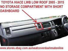 DASH MAT,GREY  DASHMAT,FIT TOYOTA HIACE  2005-2014 LWB LOW ROOF,GREY