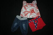Bluse Gap neu + Shorts F&F neu,  kurze Jeans Hose Primark Gr. 92 98 wie  neu