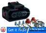 5 PIN Plug Connector Fuel Pump Control Module 1K0919231 For VW Audi Seat Skoda