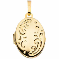 Medallón 333 Oro Amarillo Oro H 16,9mm Medallón colgante medalion metalion