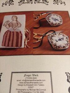 Sew My Mark~Victorian Lady~Needle Case & Biscornu~Needlepoint Pattern