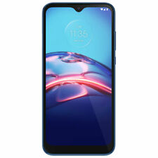 Motorola Moto E 2020 32GB Blue T-Mobile AT&T Unlocked Android LTE Smartphone