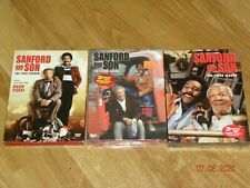 Sanford and Son DVD LOT - First Second Third Season 1 2 3 Redd Foxx 2 3 SEALED