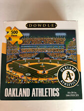 NEW Dowdle Oakland A's athletics 500 piece puzzle 16x20 baseball