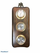Vintage Springfield Instrument Thermometer Barometer Humidity Meter