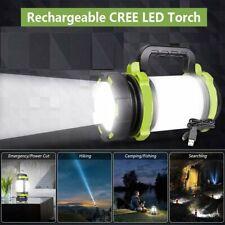 200M-700M Rechargeable CREE LED Torch Waterproof Spotlight Camping Light 3000mAh