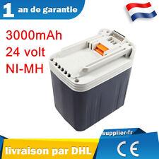 24V 3000Ah Batterie pour Makita 24volt BH2430 BH2433 BDF460 BHP460 BHR200 Ni-MH