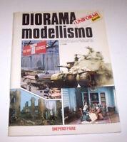 Diorama modellismo Tecniche costruttive Supplemento Uniformi & Armi 1^ ed. 1990