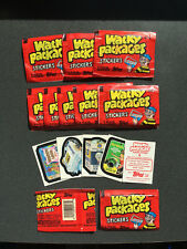 10 - 1986 Topps Wacky Packages Sticker Packs - Fresh from Box! Unopened/Sealed