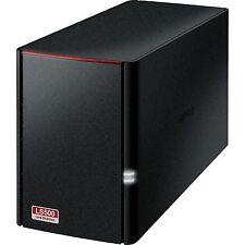 Buffalo Technology 6TB LinkStation 520 U3/GL, NAS, schwarz