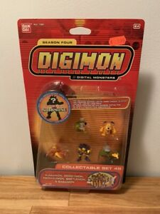 Digimon Collectable Mini Figure Set 49 Season four Bandai New Sealed