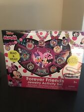 Disney Junior Minnie Forever Friends Jewelry Box Kit Activity Play Set Gift(New)