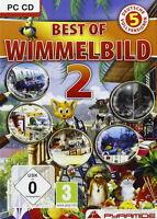 BEST OF WIMMELBILD 2   SPIELESAMMLUNG  PC CD-ROM