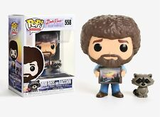Funko Pop TV: Bob Ross The Joy of Painting - Bob Ross and Raccoon Vinyl Figure