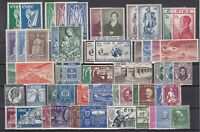 Z4679/ IRELAND – 1929 / 1956 MINT MH SEMI MODERN LOT – CV 425 $