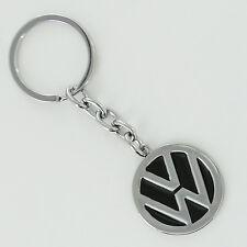 Volkswagen Black Logo Key Chain