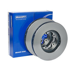 Fits Jeep Grand Cherokee 2.7 CRD 4x4 Genuine Brakefit Front Vented Brake Discs