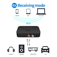 NFC Bluetooth Audio Receiver AUX RCA Support U Disk for Speaker Car Adapter