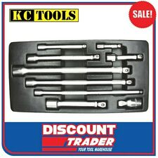 "ProAm by KC Tools 9 Piece 1/4"", 3/8"" & 1/2"" Wobble Bar Extension Set - 10179"