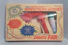 E. Davis Extra Thick Superstring Shooter 1986 Silly String Gun/Holder Vintage