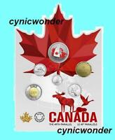 2018 Canada From Far and Wide 6-Coin Set With Glow-In-The-Dark 50¢ Coin